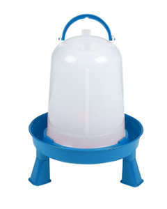 Double-Tuf DT9872 Poultry Waterer 3QT. With Removable Legs
