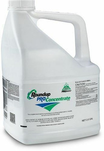 Roundup Pro Concentrate Herbicide, Weed Killer, 50.2% Glyphosate, 2.5 Gallon