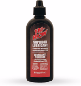 Tri-Flow 21010TF Superior Lubricant with Teflon 2 Ounce Drip Bottle