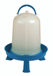 Double-Tuf DT9876 2 Gallon Poultry Waterer with Legs