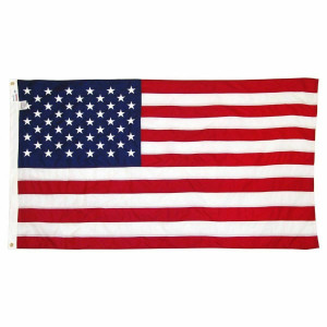 Annin Flagmakers 6359012 Nylon American Flag 3' x 5'