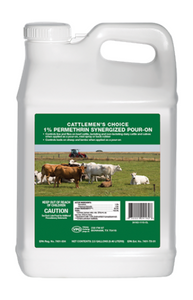 Cattlemen's Choice 24162 1% Permethrin Synergized, ( 2.5 Gal )