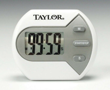 Taylor 5806 Classic Big Digit Minute/Second Digital Kitchen Timer