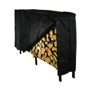 "Panacea 15214 8"" Black Vinyl Log Rack Cover w/ Velcro"