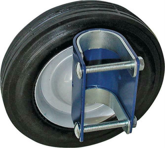 Speeco S16100600 Gate Wheel, For Use With 1-5/8 - 2 In OD Round Tube Gates