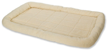 Allied Precision API 152266 X-Large Cream Color Fleece Pet Bed