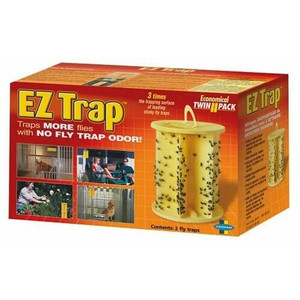 Starbar EZ Trap Bright Yellow Sticky Glue Fly / Insect Killer 2 Pack