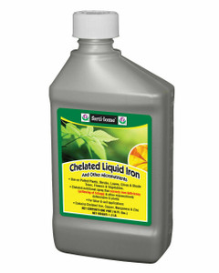 Fertilome 10625 Chelated Liquid Iron and Other Micro Nutrients for Plants (16 oz)