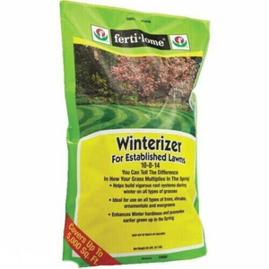 Ferti-lome (20 Lb.) Winterizer For Established Lawns, 10-0-14 10900