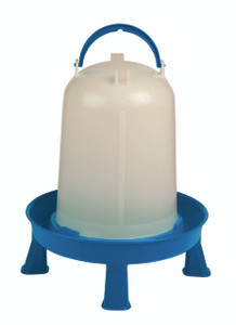 Double-Tuf DT9878 2.5 Gal Poultry Waterer with Legs