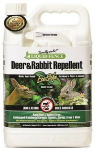 Liquid Fence HG-70109 Ready-To-Use 1 Gallon Deer And Rabbit Repellent