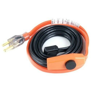 Easy Heat AHB-115 15 Foot Water Pipe Freeze Protection Heating Cable Heat Tape Kit
