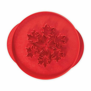 Nordic Ware 04020 Apple & Leaves Double Sided Pie Top Cutter