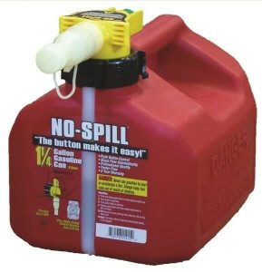 No-Spill 1415 Easy Pour 1-1/4 Gallon Gas Can