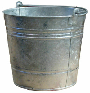 6 Behrens 1202 2GP Buckets Hot Dipped Galvanized Pail 2 Quarts Each