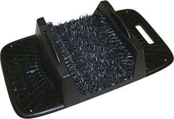 Grassworx 10370988 Cinder Shoe and Boot Scraper Cleaner Rug