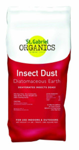 St. Gabriel Organics 50020-7 Diatomaceous Earth Insect Dust 4.4 lbs
