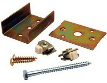 LE Johnson Pocket Door Converging Door Connector Kit 1555PPK3