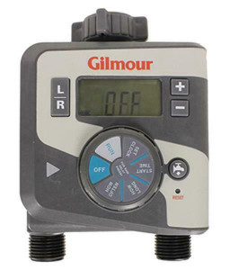 Gilmour 400GTD Dual Outlet Electronic Water Timer