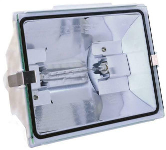 Heath Zenith HZ-5505-WH Non-Motion Security Flood Light