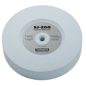 """Tormek SJ-200 8"""" x 200mm 400 Grit Japanese Waterstone for T3 & T4 Sharpening System"""