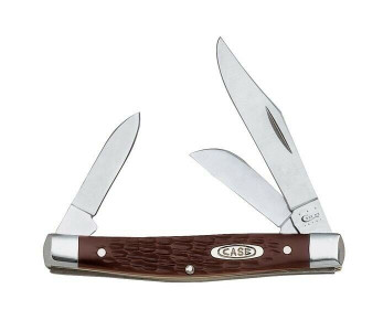 Case XX 106 Working Knives Brown Medium Stockman Pocket Knife