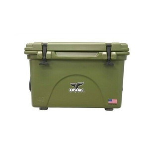 Orca Coolers ORCG040 Insulated 40 QT Quart Green Ice Chest Cooler