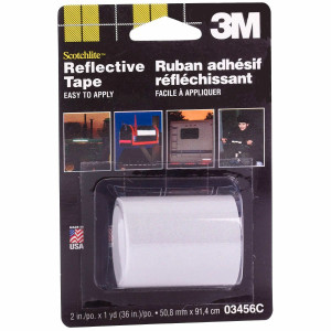 3M 03456 Scotchlite Reflective Tape 2 in x 36 in Silver