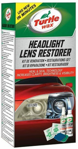 Turtle Wax T240KT Headlight Lens Restoration Kit Clean & Restore Dull Lights