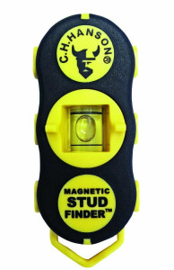 CH Hanson 3040 /03040 Magnetic Stud Finder w/ Level and Plumb Function