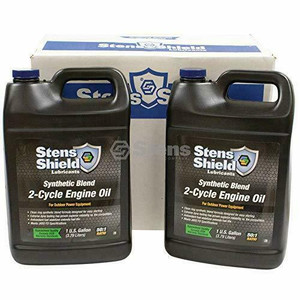 Stens 770-102 Shield 2-Cycle Engine Oil (Case Pack Four Gallons)