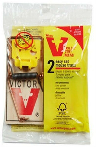 Lot of 6 Victor M035 Easy Set Disposable Mouse Traps