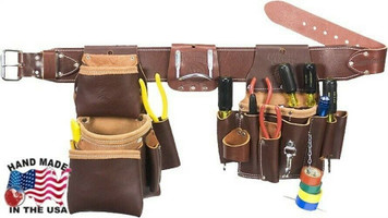 Occidental Leather 5036LG Leather Pro Electrician Set with Large Belt