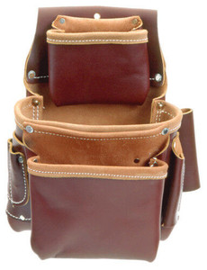Occidental Leather 5060 3 Pouch Fastener Tool Pouch Bag