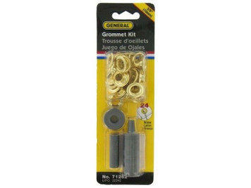 "General Tools 71262 24 Piece 3/8"" Grommet Kit Set"