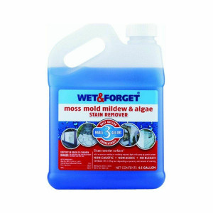 Wet and Forget 1/2 Gal Moss Mold Mildew & Algae Stain Remover