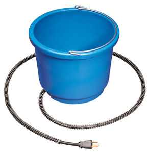 Allied Precision API 9HB 9 Quart Plastic Heated Bucket
