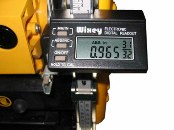 Wixey WR510 Type 2 Digital Portable Planer Readout With Fractions