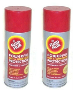 Fluid Film AS11 2 Pack 11.75 oz Aerosol Can Rust Preventative Protection Lube