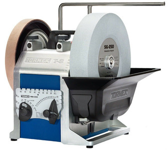"""Tormek T-8 Water Cooled Precision Sharpening System w/ 10"""" Grindstone Wheel"""