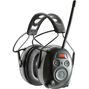 3M WorkTunes Black Wireless Hearing Protector with Bluetooth (90542-3DC)