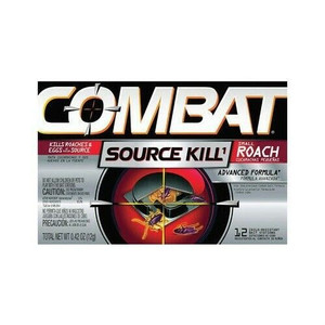Combat 41910 Source Kill Roach Control 12 Bait Stations