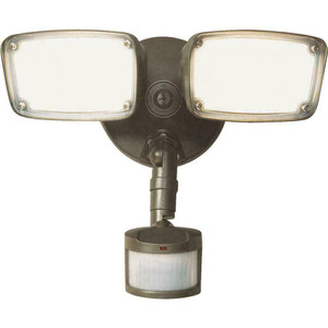 Eaton Halo MST203T18B Bronze LED Twin Head Floodlight