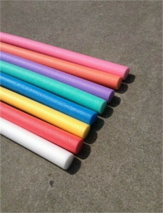 5' Quick R TWL-20 Solid Foam Core Swimming Pool Noodles - Case of 20