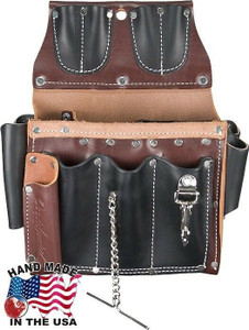 Occidental Leather - Leather Electricians Tool Case Belt w/25 Pockets