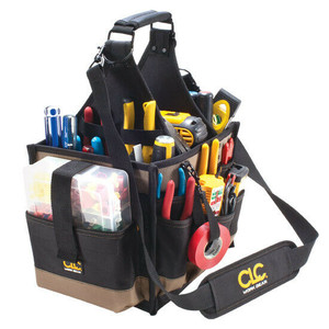CLC Custom LeatherCraft 1528 23 Pocket Large Electrical & Maintenance Tool Carrier