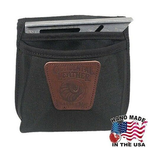 Occidental Leather  Clip On Large Single Pocket w Angle Square Holster