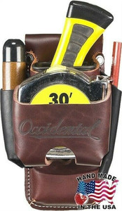 Occidental Leather Belt Worn 4 In 1 Tool Tape Holder w/Oxy Tool Shield