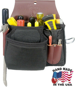 Occidental Leather Stronghold Tool Case Bag w/ 18 Pockets / Holders