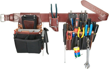 Occidental Leather 5590 Commercial Electricians Tool Bag Set Small